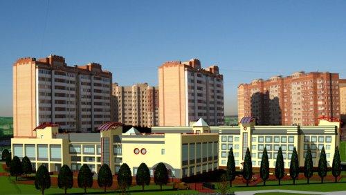 г. Жуковский, мкр. 5, школа на 33 класса