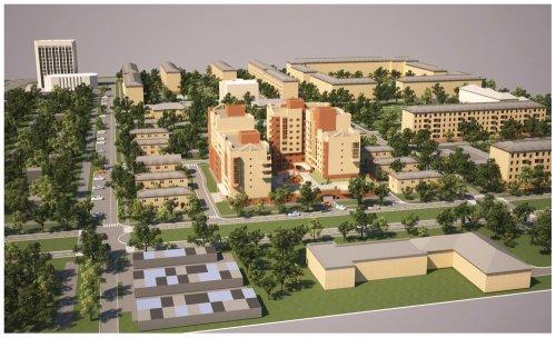 г. Жуковский. Проект планировки территории многоквартирных жилых домов со встроенными помещениями общественного назначения